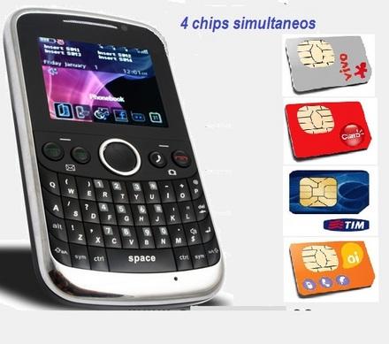 Celular 4 Chips