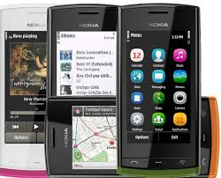 Smarthphone Nokia 500
