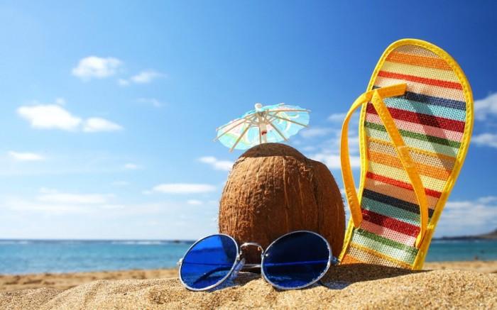 O que comprar para uma viagem para a praia